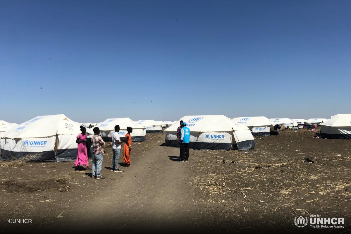 Refugee Camp Tigray Crisis